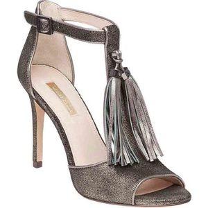 LOUISE ET CIE Lo-Tage Tassel Ankle Strap Heels